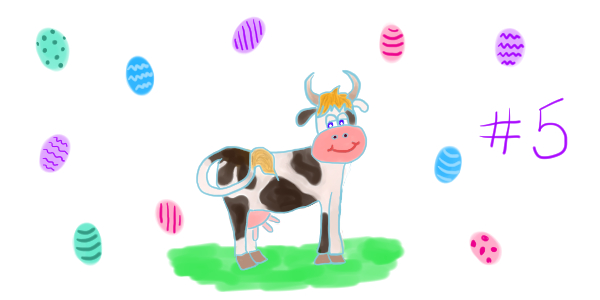 """La vache de Pâques – chapitre 5: Pâquerette fête Pâques<span class=""""badge-status"""" style=""""background:#FF912C"""">abonnés</span>"""