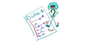 Le perturbateur de dictée – chapitre 1: Une classe au sommet