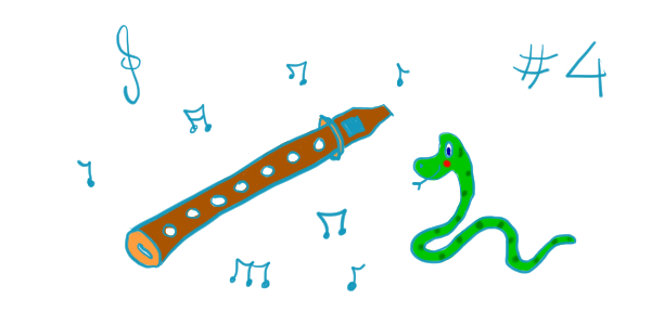 La flûte enserpentée – chapitre 4 : La mélodie du petit-grand-petit