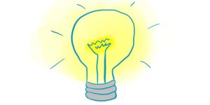 L'ampoule à idées