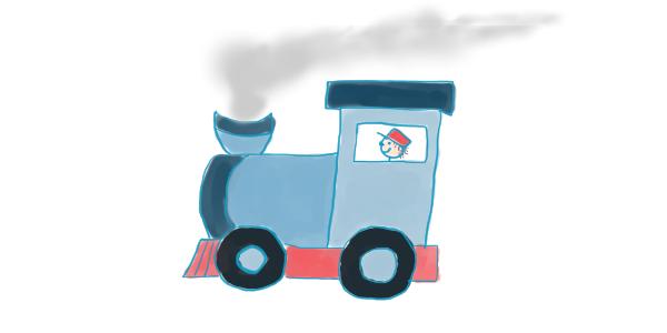 """Le train de Victor <span class=""""badge-status"""" style=""""background:#FF912C"""">abonnés</span>"""