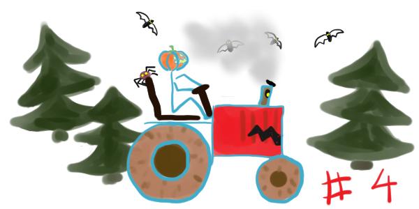 Le tract-horreur d'Halloween – chapitre 4: Au travail les chauve-souris